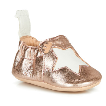Shoes Girl Slippers Easy Peasy BLUMOO ETOILE Pink / Gold
