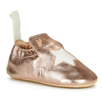 Shoes Children Slippers Easy Peasy BLUBLU ETOILE Pink / Gold