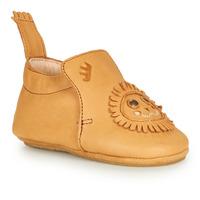 Shoes Children Slippers Easy Peasy BLUBLU LION Cognac