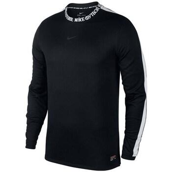 Clothing Men sweaters Nike FC Football Crew Black