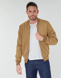 Clothing Men Jackets Casual Attitude NEPPE Cognac