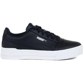 Shoes Women Derby Shoes & Brogues Puma Carina L Black