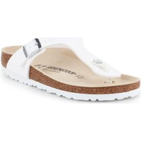 Shoes Women Flip flops Birkenstock Gizeh BS 0043733 white