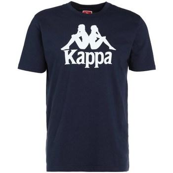 Clothing Men Short-sleeved t-shirts Kappa Caspar Tshirt Navy blue