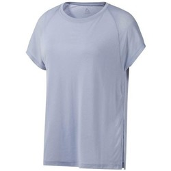 Clothing Women Short-sleeved t-shirts Reebok Sport One Series Burnout Grey