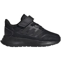 Shoes Children Low top trainers adidas Originals Runfalcon I Black