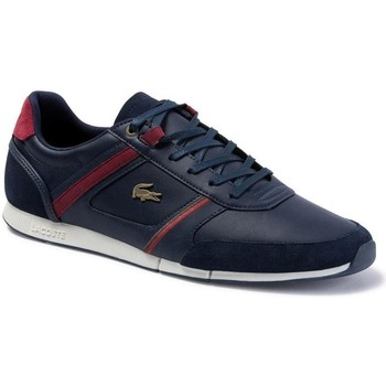 Shoes Men Low top trainers Lacoste Menerva Graphite