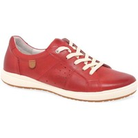 Shoes Women Trainers Josef Seibel Caren 01 Womens Casual Trainers red