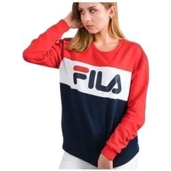 Clothing Women sweaters Fila Leah Crew Sweat