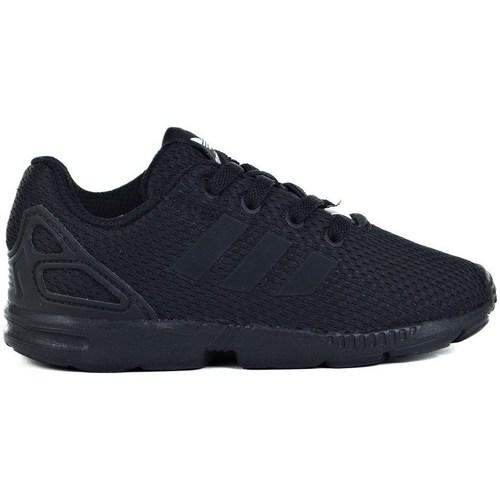 Shoes Children Low top trainers adidas Originals ZX Flux EL I Black