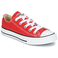 Shoes Children Low top trainers Converse ALL STAR OX Red