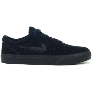 Shoes Men Low top trainers Nike SB Charge Suede Black