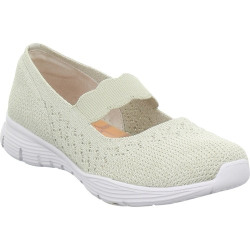 Shoes Women Derby Shoes & Brogues Skechers Seager Beige