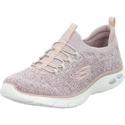Shoes Women Low top trainers Skechers Slipon Sharp Witted Pink