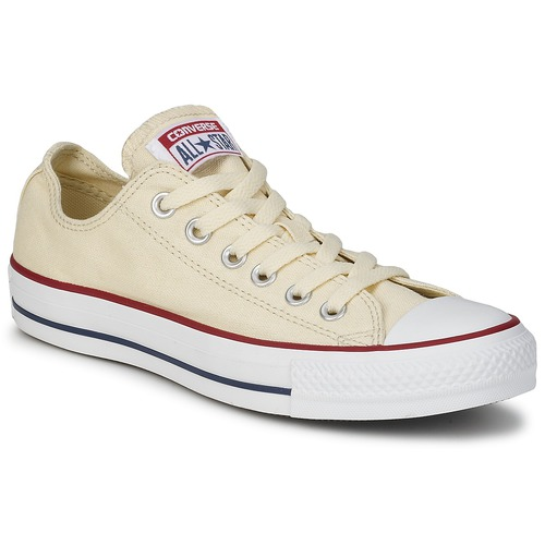 Shoes Low top trainers Converse ALL STAR CORE OX White / Beige