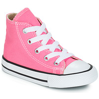 Shoes Children Hi top trainers Converse ALL STAR HI Pink