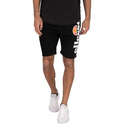 Clothing Men Shorts / Bermudas Ellesse Bossini Fleece Sweat Shorts black