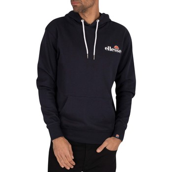 Clothing Men Jumpers Ellesse Primero Pullover Hoodie blue