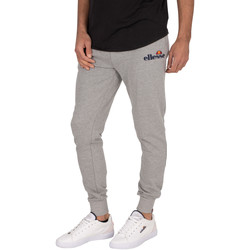 Clothing Men Tracksuit bottoms Ellesse Nioro Joggers grey