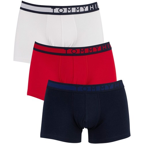 Underwear Men Boxer shorts Tommy Hilfiger 3 Pack Trunks multicoloured