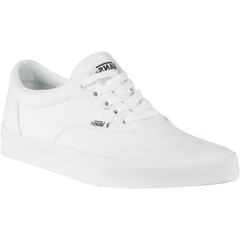 Shoes Men Trainers Vans Doheny Canvas Trainers white
