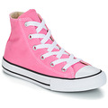 Shoes Girl Hi top trainers Converse ALL STAR HI Pink