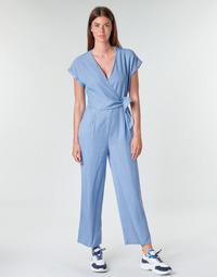 Clothing Women Jumpsuits / Dungarees Vero Moda VMLAURA Blue / Clear
