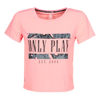 Clothing Women short-sleeved t-shirts Only Play  Pink