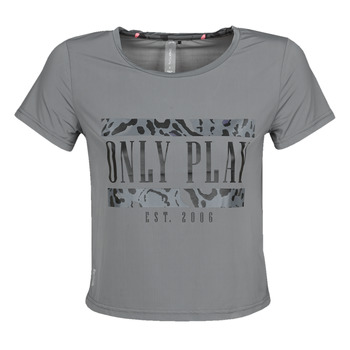 Clothing Women short-sleeved t-shirts Only Play  Grey