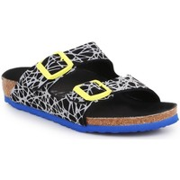 Shoes Children Mules Birkenstock Arizona Kids Black