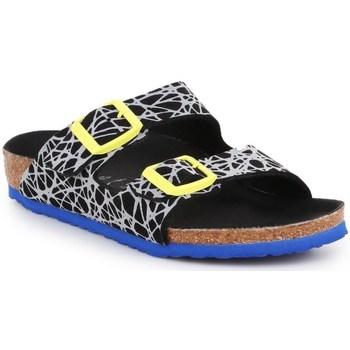 Shoes Children Mules Birkenstock Arizona Kids Black