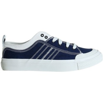 Shoes Men Low top trainers Diesel Y01873PR012H7113 White, Navy blue
