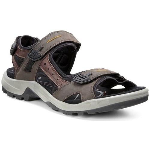 Shoes Men Sandals Ecco Men Offroad Yucatan Grey