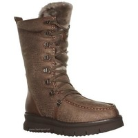 Shoes Women Snow boots Geox Porthya Brown