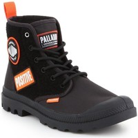 Shoes Men Mid boots Palladium HI Change Black