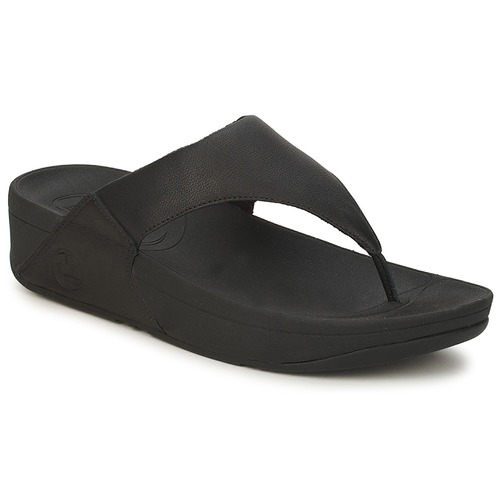 Shoes Women Flip flops FitFlop LULU LEATHER™ Black