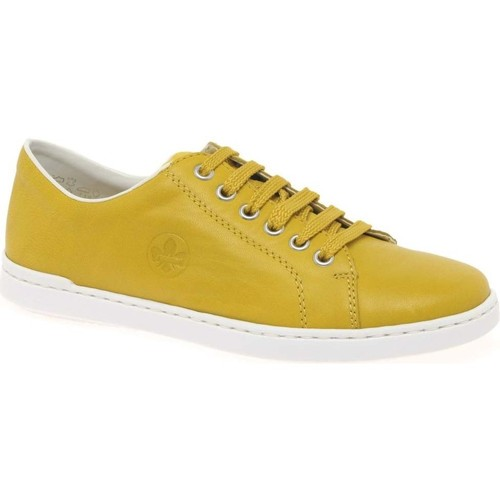 Shoes Women Fitness / Training Rieker Clipper Womens Casual Trainers yellow
