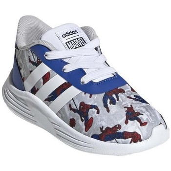 Shoes Boy Low top trainers adidas Originals Lite Racer 20 I Red, Grey, Blue
