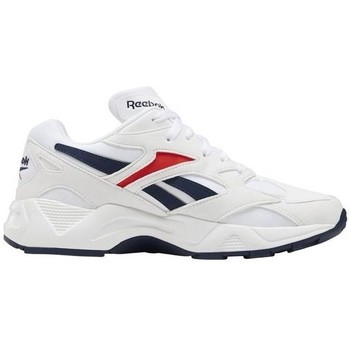 Shoes Women Low top trainers Reebok Sport Aztrek 96 White,Red,Navy blue