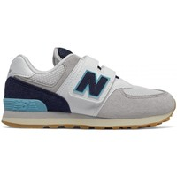 Shoes Children Low top trainers New Balance 574 Grey,Navy blue