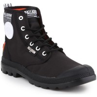 Shoes Men Mid boots Palladium Pampa Lite Overlab Black