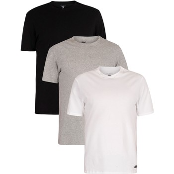 Clothing Men Short-sleeved t-shirts Ted Baker 3 Pack Lounge Crew T-Shirts multicoloured