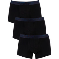 Underwear Men Boxer shorts Ted Baker 3 Pack Trunks black
