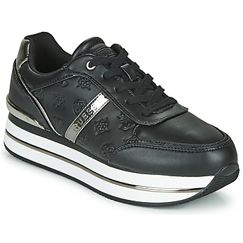 Shoes Women Low top trainers Guess DAFNEE Black