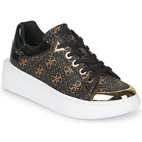 Shoes Women Low top trainers Guess BRANDYN Brown