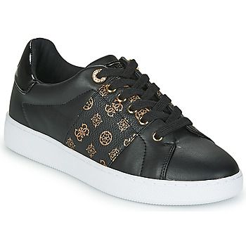 Shoes Women Low top trainers Guess REJEENA Black