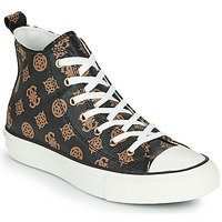Shoes Women Hi top trainers Guess NKA Brown