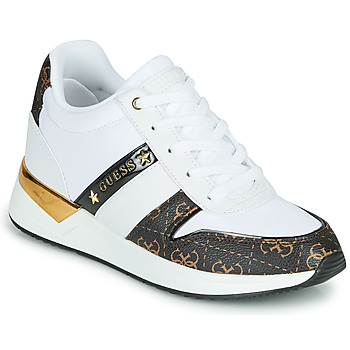 Shoes Women Low top trainers Guess RAVYN II White