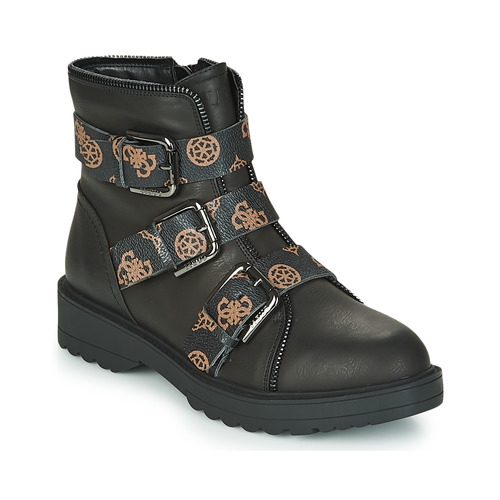 Shoes Women Mid boots Guess WENDY Black