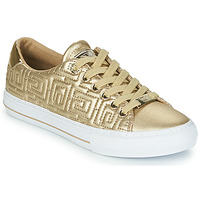 Shoes Women Low top trainers Guess GOLDENN Gold